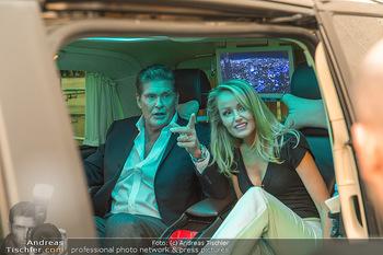 David Hasselhoff für Admiral PK - Novomatic Forum, Wien - Di 09.04.2019 - David HASSELHOFF mit Ehefrau Hayley ROBERTS112