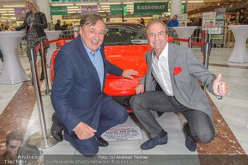 Sportwagenwoche VIP Abend - Lugner City - Mi 10.04.2019 - Heribert KASPER, Richard LUGNER3