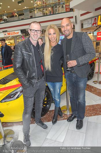 Sportwagenwoche VIP Abend - Lugner City - Mi 10.04.2019 - Alex LIST, Yvonne RUEFF, Cyrill RADLHER4