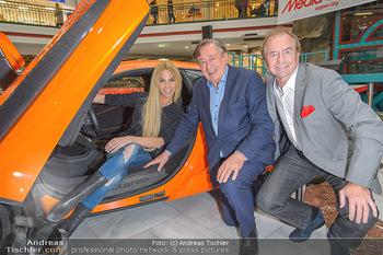 Sportwagenwoche VIP Abend - Lugner City - Mi 10.04.2019 - Heribert KASPER, Richard LUGNER, Yvonne RUEFF9