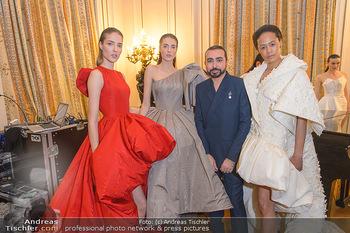 L´Official Launch Event - Französische Botschaft - Do 11.04.2019 - Mohammed ASHI mit Models1