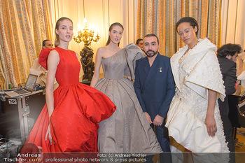 L´Official Launch Event - Französische Botschaft - Do 11.04.2019 - Mohammed ASHI mit Models25