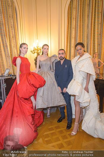 L´Official Launch Event - Französische Botschaft - Do 11.04.2019 - Mohammed ASHI mit Models26
