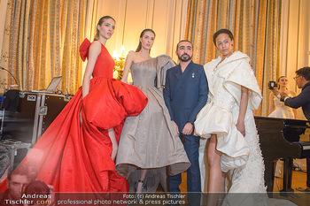 L´Official Launch Event - Französische Botschaft - Do 11.04.2019 - Mohammed ASHI mit Models27