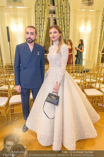 L´Official Launch Event - Französische Botschaft - Do 11.04.2019 - Mohammed ASHI mit Model39