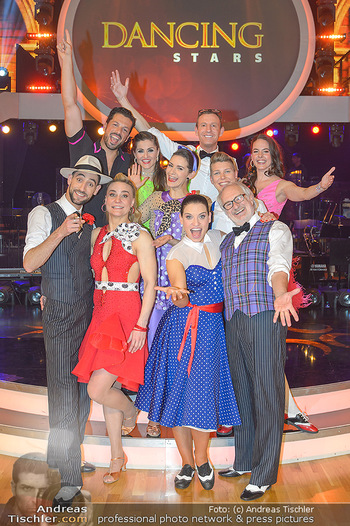 Dancing Stars - ORF Zentrum - Fr 12.04.2019 - Gruppenfoto verbliebene Dancing Stars6