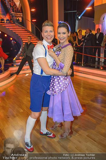 Dancing Stars - ORF Zentrum - Fr 12.04.2019 - Virginia ERNST, Alexandra SCHERIAU11