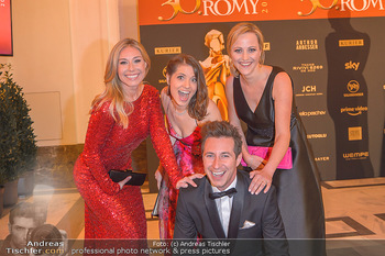 Romy Gala - Red Carpet - Hofburg Wien - Sa 13.04.2019 - Nina KRAFT, Kristina INHOF, Alina ZELLHOFER, Lukas SCHWEIGHOFER1