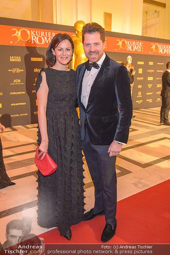 Romy Gala - Red Carpet - Hofburg Wien - Sa 13.04.2019 - Anelia PESCHEV, Daniel SERAFIN29