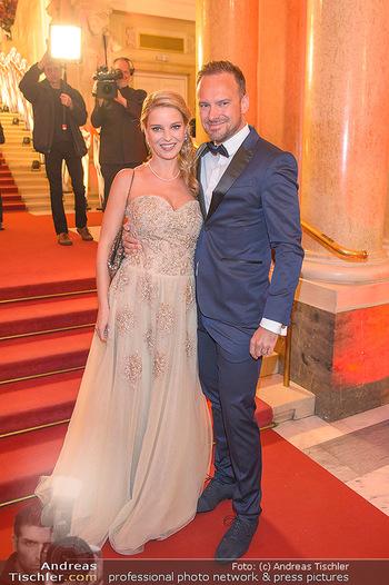 Romy Gala - Red Carpet - Hofburg Wien - Sa 13.04.2019 - Christine REILER (schwanger), Markus FLASCH64