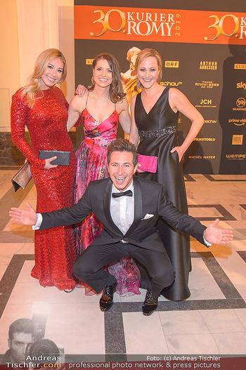 Romy Gala - Red Carpet - Hofburg Wien - Sa 13.04.2019 - Nina KRAFT, Kristina INHOF, Alina ZELLHOFER, Lukas SCHWEIGHOFER82