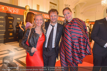 Romy Gala - Red Carpet - Hofburg Wien - Sa 13.04.2019 - Kathrin ZECHNER, Philipp HOCHMAIR, Patricia AULITZKY118