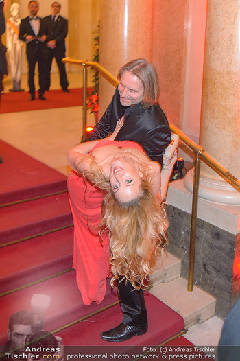 Romy Gala - Red Carpet - Hofburg Wien - Sa 13.04.2019 - Lilian KLEBOW, Erich ALTENKOPF150