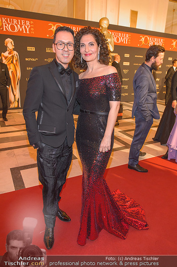 Romy Gala - Red Carpet - Hofburg Wien - Sa 13.04.2019 - Proschat MADANI, Thang DE HOO191