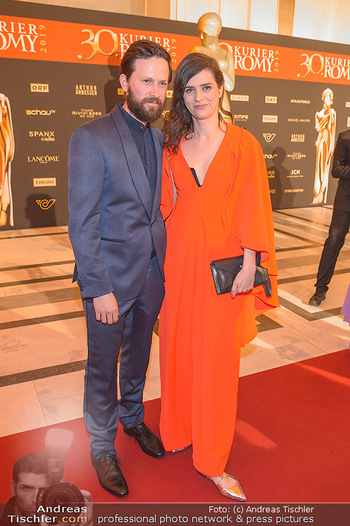 Romy Gala - Red Carpet - Hofburg Wien - Sa 13.04.2019 - Nora TSCHIRNER, Franz DINDA194