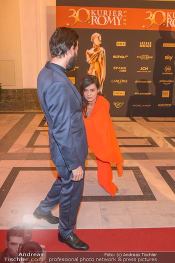 Romy Gala - Red Carpet - Hofburg Wien - Sa 13.04.2019 - Nora TSCHIRNER, Franz DINDA196