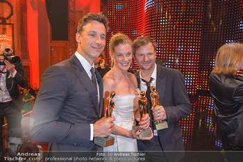 Romy Gala - Party - Hofburg Wien - Sa 13.04.2019 - Florian David FITZ, Marie BÄUMER, Philipp HOCHMAIR32