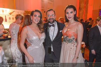 Romy Gala - Party - Hofburg Wien - Sa 13.04.2019 - Nadine MIRADA, Stefan JOHAM, Sanela VELAGIC77