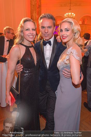 Romy Gala - Party - Hofburg Wien - Sa 13.04.2019 - Nina PROLL, Alfons HAIDER, Silvia SCHNEIDER80