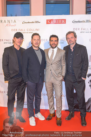 Kinopremiere ´Der Fall Collini´ - Urania Kino Wien - Mo 15.04.2019 - Elyas M´BAREK, Marco KREUZPAINTNER, Marcel HARTGES, Christoph M46