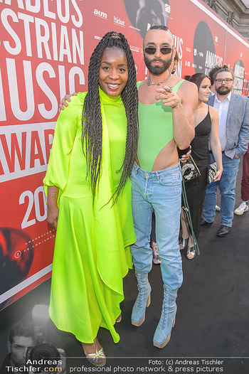 Amadeus Austria Music Awards 2019 - Volkstheater Wien - Do 25.04.2019 - Christl CLEAR, Conchita WURST17