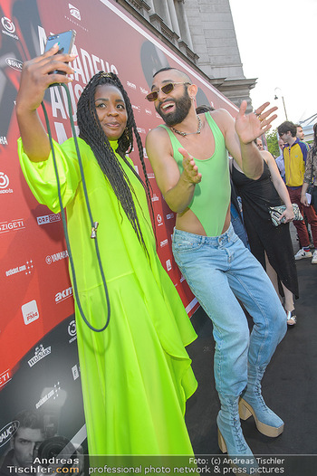 Amadeus Austria Music Awards 2019 - Volkstheater Wien - Do 25.04.2019 - Christl CLEAR, Conchita WURST18