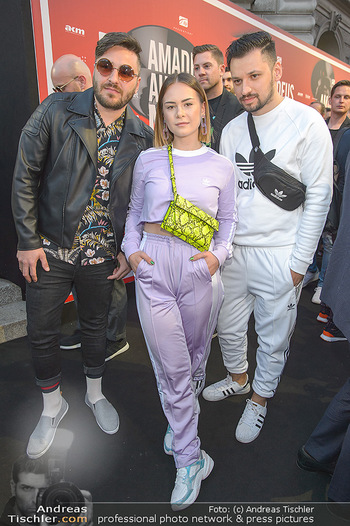 Amadeus Austria Music Awards 2019 - Volkstheater Wien - Do 25.04.2019 - David SLOMO, MATHEA86