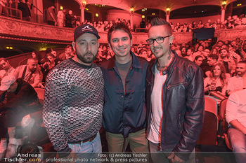 Amadeus Austria Music Awards 2019 - Volkstheater Wien - Do 25.04.2019 - Christopher SEILER, Bernhard SPEER, Julian LE PLAY121