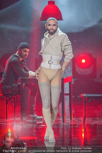 Amadeus Austria Music Awards 2019 - Volkstheater Wien - Do 25.04.2019 - WURST (conchita) Auftrittsfoto, Bühnenfoto210