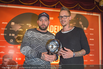 Amadeus Austria Music Awards 2019 - Volkstheater Wien - Do 25.04.2019 - Christopher SEILER, Bernhard SPEER329
