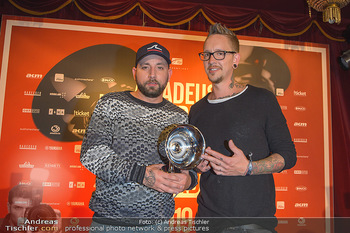 Amadeus Austria Music Awards 2019 - Volkstheater Wien - Do 25.04.2019 - Christopher SEILER, Bernhard SPEER330