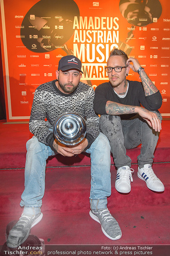 Amadeus Austria Music Awards 2019 - Volkstheater Wien - Do 25.04.2019 - Christopher SEILER, Bernhard SPEER332