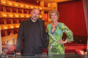 Filmpremiere ´Backstage Wiener Staatsoper´ - Wiener Staatsoper - So 28.04.2019 - Stephanus DOMANIG, Barbara RETT1