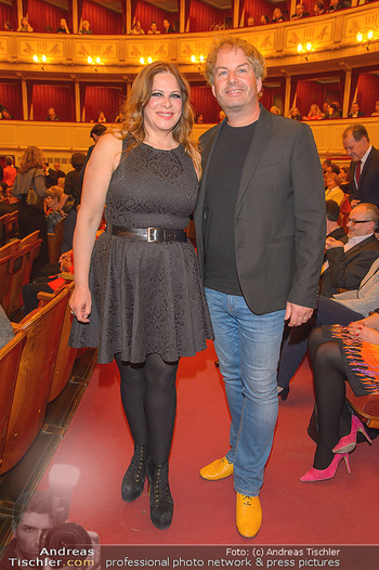 Filmpremiere ´Backstage Wiener Staatsoper´ - Wiener Staatsoper - So 28.04.2019 - Natalia USHAKOVA, Rainer SCHENDL33