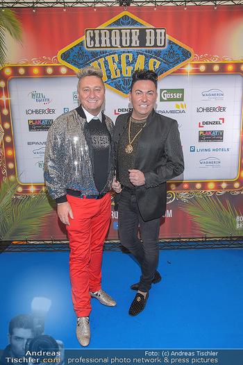 Cirque Du Vegas - Zirkuszelt, Wien - Di 30.04.2019 - Hubert und Matthias FELLA2