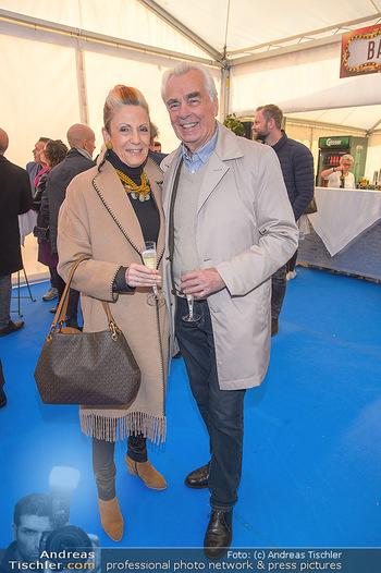 Cirque Du Vegas - Zirkuszelt, Wien - Di 30.04.2019 - Hannes NEDBAL mit Ehefrau Liselotte9