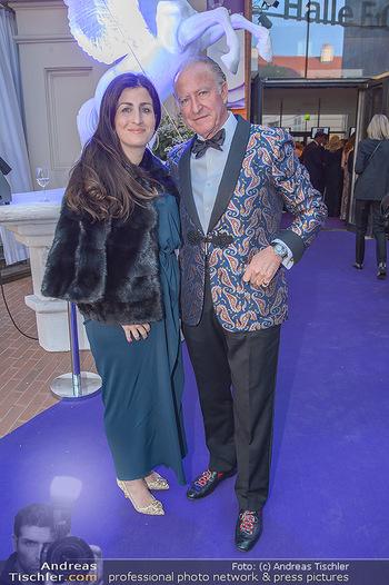 Duftstars Awards - MQ Halle E, Wien - Do 02.05.2019 - Alberto MORILLAS mit Tochter Veronique37