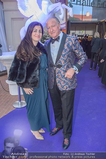 Duftstars Awards - MQ Halle E, Wien - Do 02.05.2019 - Alberto MORILLAS mit Tochter Veronique38