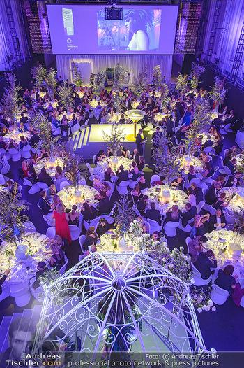 Duftstars Awards - MQ Halle E, Wien - Do 02.05.2019 - Gala, Übersichtsfoto, Festsaal, Dinner, Gäste, Tische290