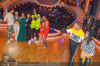 Dancing Stars - ORF Zentrum - Fr 03.05.2019 - Roswitha WIELAND, Stefan PETZNER, im Hintergrund Siegerfoto14