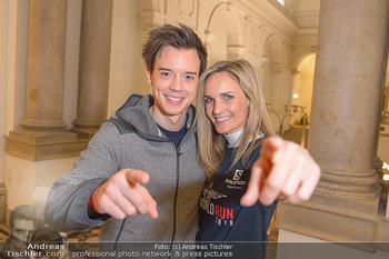 Wings4life world run - Universität Wien - So 05.05.2019 - Philipp HANSA, Patricia KAISER1