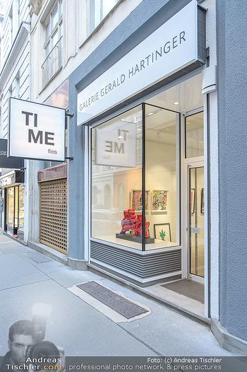 Neue PopArt Galerie - Galerie Gerald Hartinger - Di 07.05.2019 - Galerie von außen, Schaufenster2