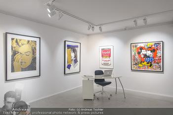 Neue PopArt Galerie - Galerie Gerald Hartinger - Di 07.05.2019 - Innenraum, Innenarchitektur, Räumlichkeiten, Kunstwerke, Ausste3