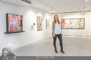Neue PopArt Galerie - Galerie Gerald Hartinger - Di 07.05.2019 - Lena HEIDRICH (Tochter von Gerald Hartinger) in der neuen Galeri10
