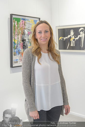 Neue PopArt Galerie - Galerie Gerald Hartinger - Di 07.05.2019 - Lena HEIDRICH (Tochter von Gerald Hartinger) in der neuen Galeri12
