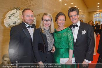Fundraising Dinner - Albertina, Wien - Di 07.05.2019 - Margarete SCHRAMBÖCK mit Ehemann, Georg GÜRTLER mit Freundin E1