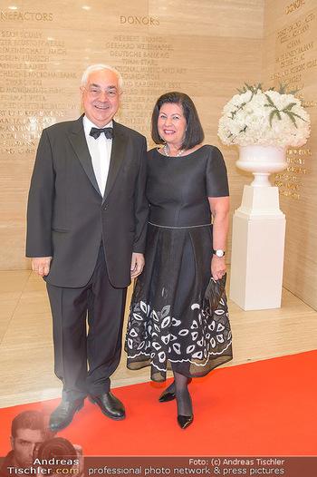 Fundraising Dinner - Albertina, Wien - Di 07.05.2019 - Walter ROTHENSTEINER mit Ehefrau Charlotte4