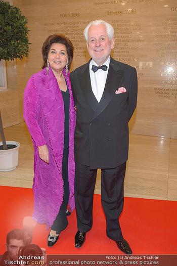 Fundraising Dinner - Albertina, Wien - Di 07.05.2019 - Susanne (Suzanne) HARF mit Ehemann Wolfgang SCHWARZHAUPT14