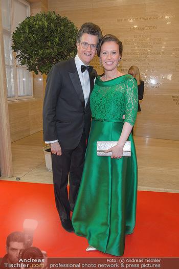 Fundraising Dinner - Albertina, Wien - Di 07.05.2019 - Georg GÜRTLER mit Freundin Eva15