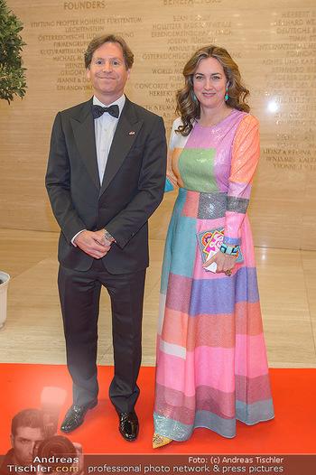 Fundraising Dinner - Albertina, Wien - Di 07.05.2019 - Trevor D. TRAINA mit Ehefrau Alexis S.34